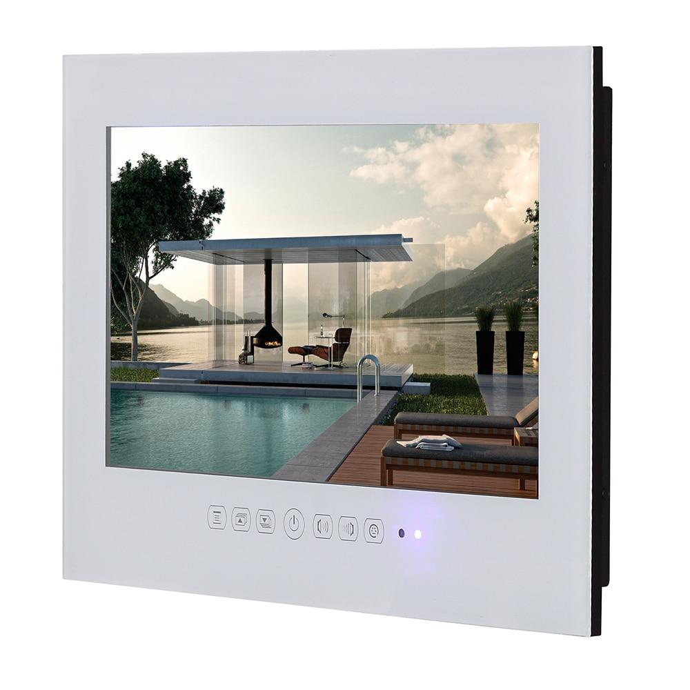 HTB1MCfFjCYH8KJjSspdq6ARgVXaw Souria 22 inch Android 9.0 Smart Glass for Bathroom Digital Waterproof Black Finish Hotel LED TV