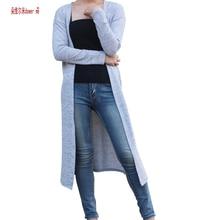 dower me Gray Black Red Cardigan Women Sweater casual Crochet Poncho Plus Size Coat Women long Sweaters vestidos Cardigans