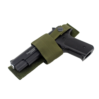 Tactical Hunting Gun Holster Universal Adjustable Pistol Holster With Hook Loop Botton Snap Closure for Handguns Nylon Gun bag 1
