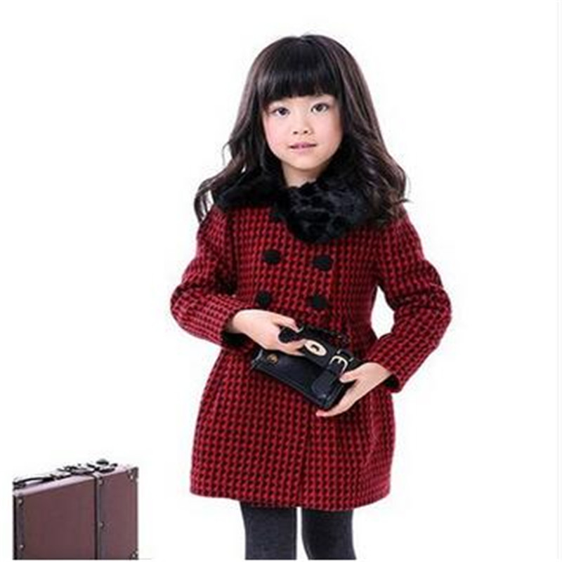 Popular Kids Girls Woolen Jackets-Buy Cheap Kids Girls Woolen ...