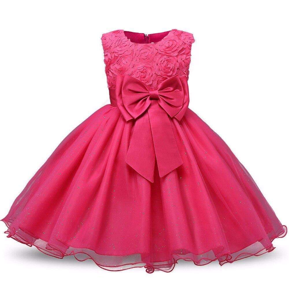 2017 Summer Princess Flower Girl Dress Birthday Party Dresses For Girls teenagers dress Children's Costume Prom Designs marfoli girl princess dress birthday