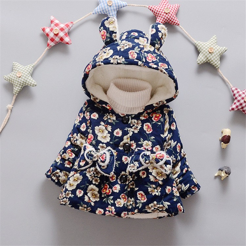 BibiCola Girls winter coat Children's Parkas Winter Jackets for girls Clothing for infant jacket Clothes for baby girls kids