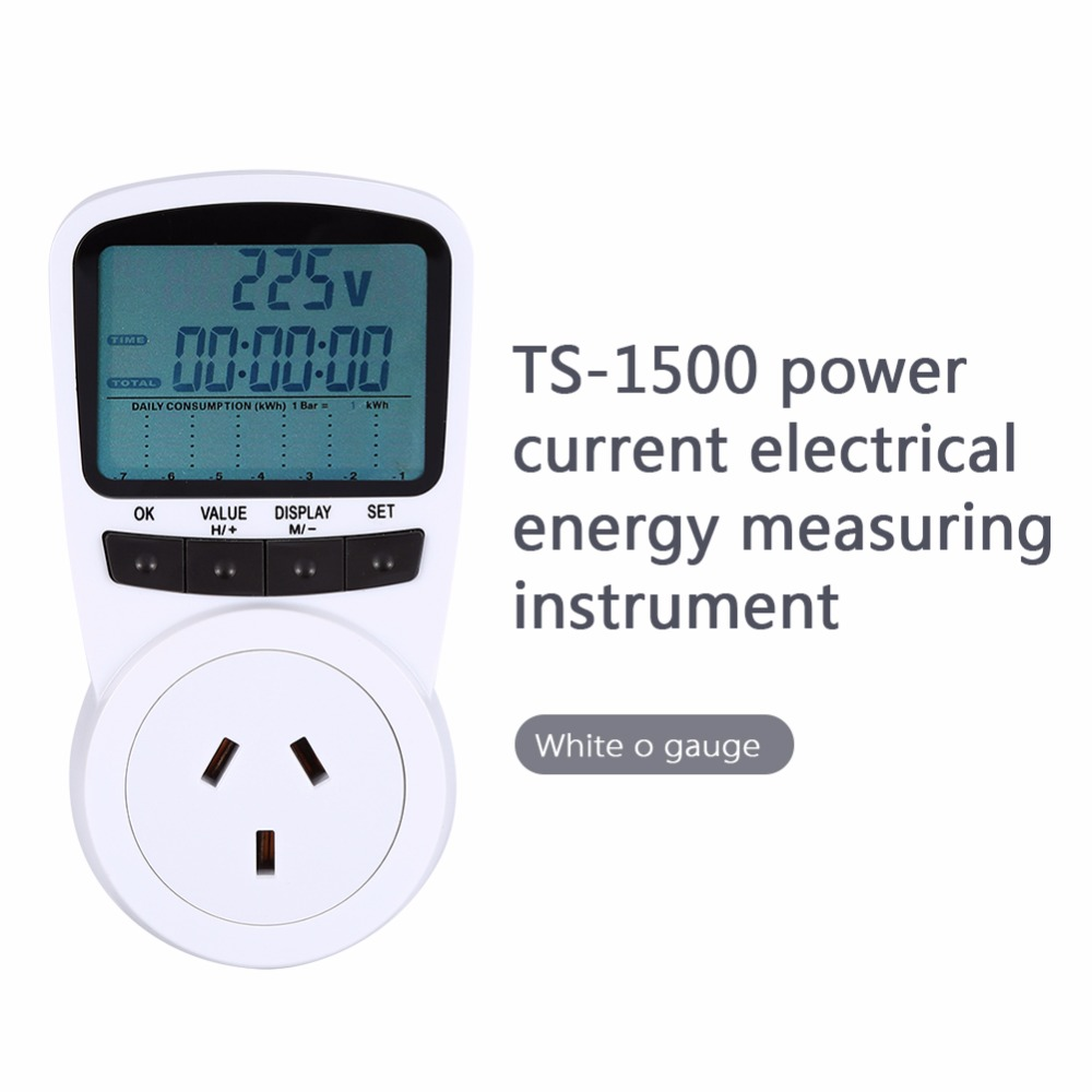 Electric Power Detector : ᑐdigital lcd electric energy ᐃ watt meter power
