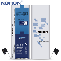 NOHON Replacement Battery For Apple IPhone 5 5G Not For 5C 5S Real Capacity 3 8V