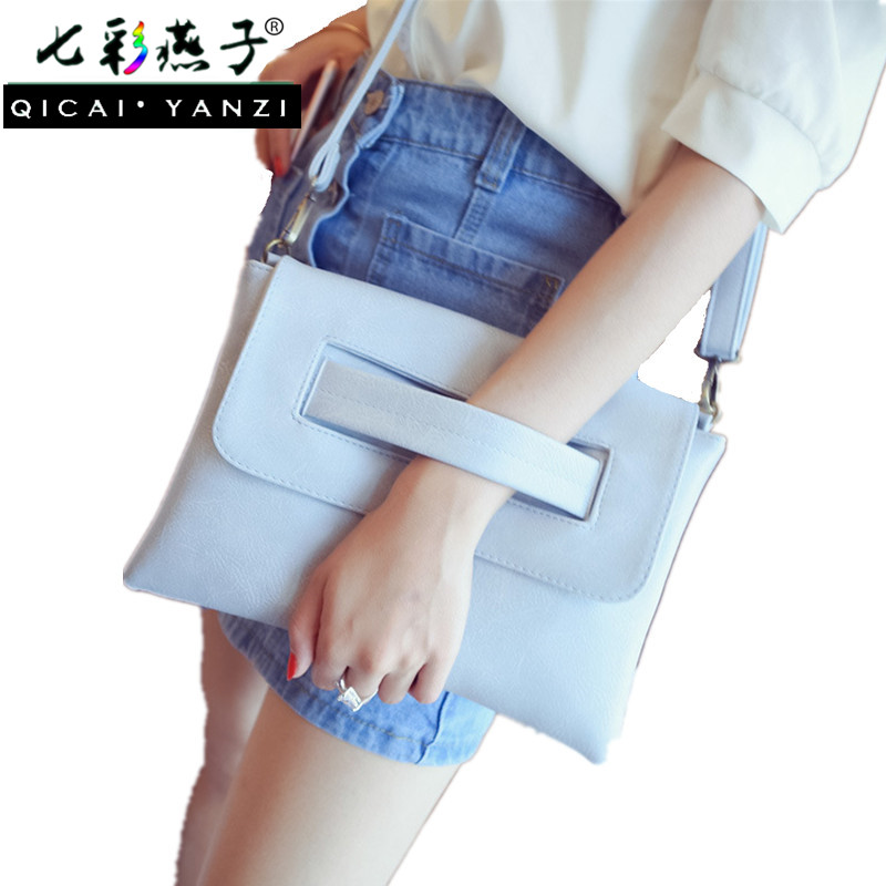 2017 Women Messenger Bags Ladies Envelope Evening Party Clutch Bag PU Leather Handbags Clutches Crossbody Korea Satchels P525 аппарат сварочный fubag ir 200 vrd инверторный 68 092