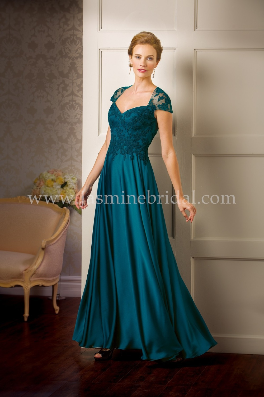 Custom Made Teal Scoop 2017 Evening Dress Plus Size Cap