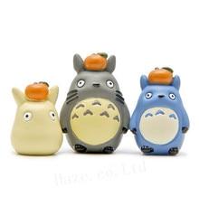 3pcs/Set Studio Ghibli My Neighbor Totoro DIY Resin Figure Statue стоимость