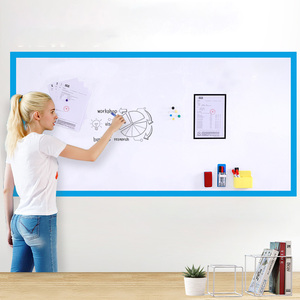 Hold magnets Whiteboard Wall Sticker Office Dry Wipe Writing White Board for Wall Home Decor Kid Learning Gratiffi Drwaing Board