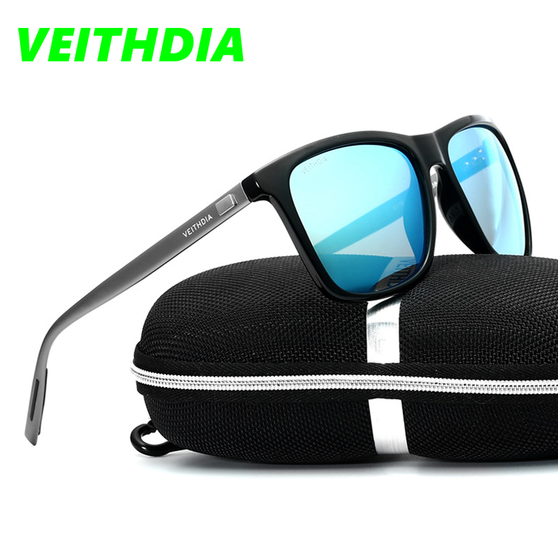 9a2375feb6 VEITHDIA Brand LOGO Retro Aluminum TR90 Sunglasses Polarized Men s Male  Eyewear Accessories Driving Sun Glasses Goggle 6108-in Sunglasses from Men s  ...
