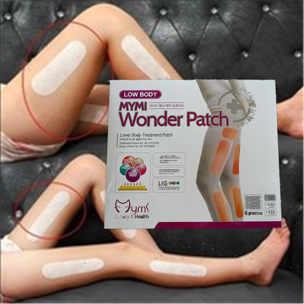 18pcs Mymi Wonder Patch For Legs Arm Slim Patch Weight Loss Fat Burning Anti Cellulite Face Lift Tool