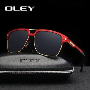 Мужские и женские классические очки OLEY, брендовые поляризационные солнцезащитные очки унисекс, с логотипом на заказ