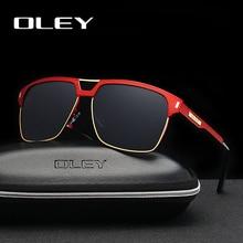 OLEY Merk Unisex Classic Mannen Zonnebril Gepolariseerde Mannelijke Zonnebril Vrouwen Voor Mannen Óculos de sol Accepteren Logo Maatwerk