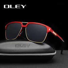 OLEY のブランドユニセックスクラシック男性サングラス偏男性サングラス女性男性 Oculos デソル受け入れるカスタマイズ