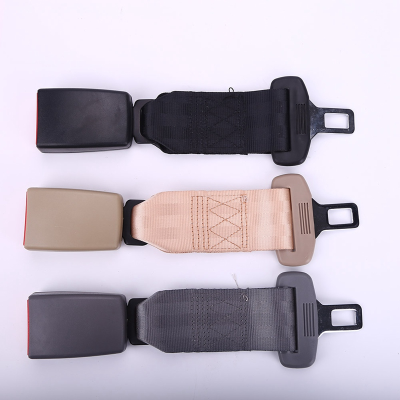 Universal Car Auto Seat Seatbelt Safety Belt Extender Extension Buckle Seat Belts & Padding Extender stylish crown universal stainless steel seat belt buckle latches pair