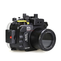 Waterproof Underwater Diving Camera Housing Case Bag Protector For Panasonic Lumix GH5 12 60mm Lens