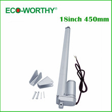 2 pcs 450mm Linear Actuator 340lbs 12 V DC for solar tracking 100W solar panel tracker