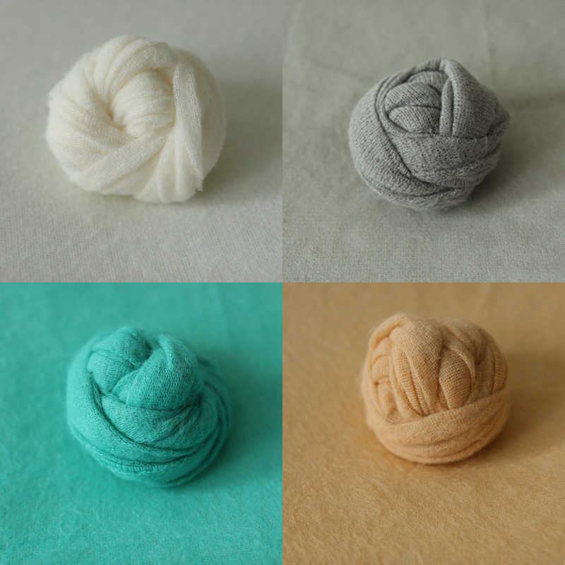 2019 Nuovo 150X165 cm Neonato Fotografia Puntelli Sfondo Wraps Set Del Bambino Sfondi per Foto In Studio di Nuovo Nato Del Crochet knit Wrap