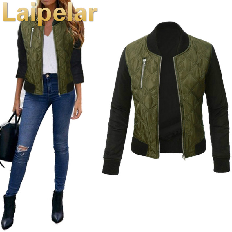 Autumn   Jacket   Coat 2018 Fashion Autumn   Basic     Jackets   Casaco Feminino Baseball Bomber   Jacket   Women Spring Cothing Coats For Women