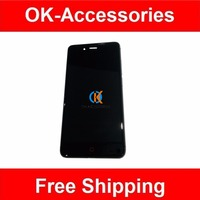 100 High Quality For ZTE Z11 Mini With Frame LCD Display Touch Screen Digitizer Assembly Black