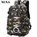 Xqxa camo hombres mochila estilo preppy mochilas escolares para la muchacha del muchacho adolescentes middle school bolsas de gran capacidad de la escuela secundaria