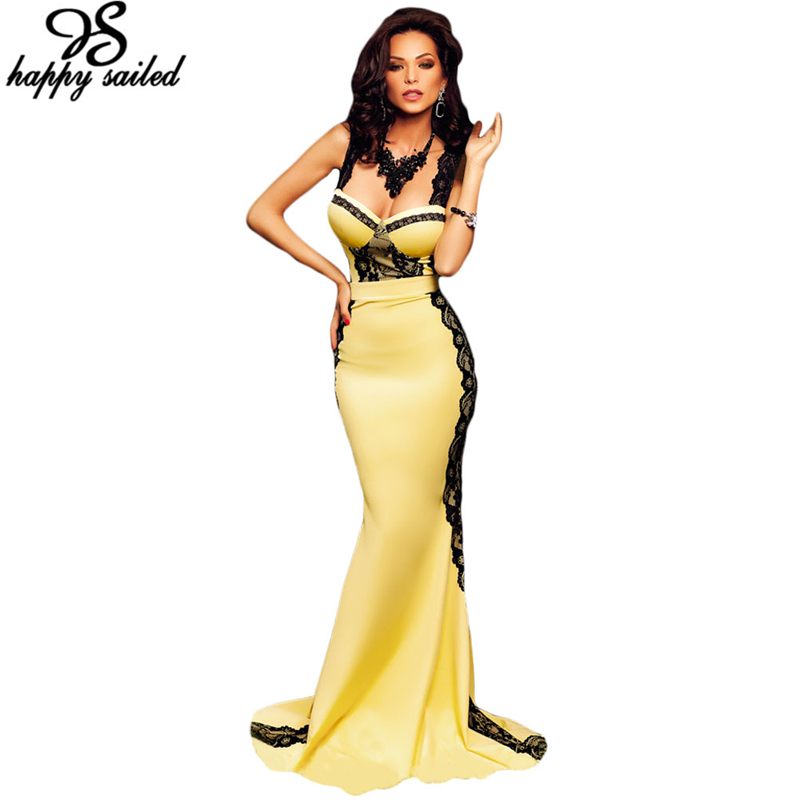 Compare Prices on Yellow Strapless Maxi Dress- Online Shopping/Buy ...