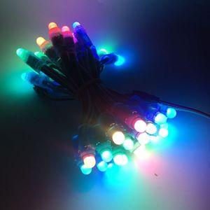 Image 4 - 50 قطعة/الوحدة 12 مللي متر WS2811 كامل اللون LED بكسل ضوء وحدة تيار مستمر 5 فولت مقاوم للماء IP68 RGB اللون 2811 IC الرقمية LED عيد الميلاد ضوء