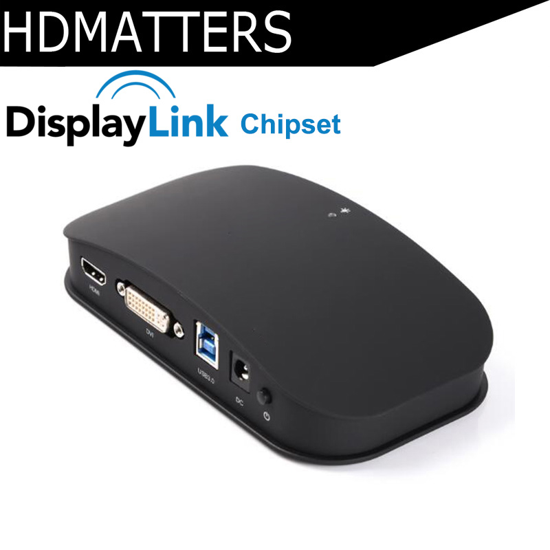 Displaylink chipset USB 3.0 to HDMI 1080P video&audio converter adapter cable for PC laptop macbooks up to 1920X1200