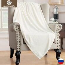 Manta de lana Manta de color Sólido Puro mantas sofá throw Mantas Colchas para Cama de viaje de avión para el hogar ropa de cama de viaje