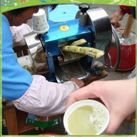 Free Shipping Stainless steel manual Sugarcane Juicer Extractor Sugar Cane juice Machine