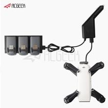 Chargeur de voiture 2 en 1 pour DJI Spark Part 7 moyeu de charge de batterie et télécommande pour accessoires de Drone DJI Spark