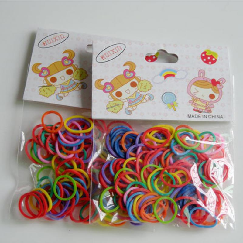 100pcs/Bag Newest Colorful Pet Beauty Supplies Dog Grooming Rubber Band Pet Hair Product Hairpin Hair Accessories