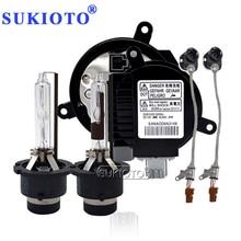 SUKIOTO Premium 35W Yeaky Xenon D2S HID комплект 4500K 5500K 6500K Yeaky HID Лампы D2S D4S D2R D4R Автомобильная фара балласт D4S ксеноновый комплект