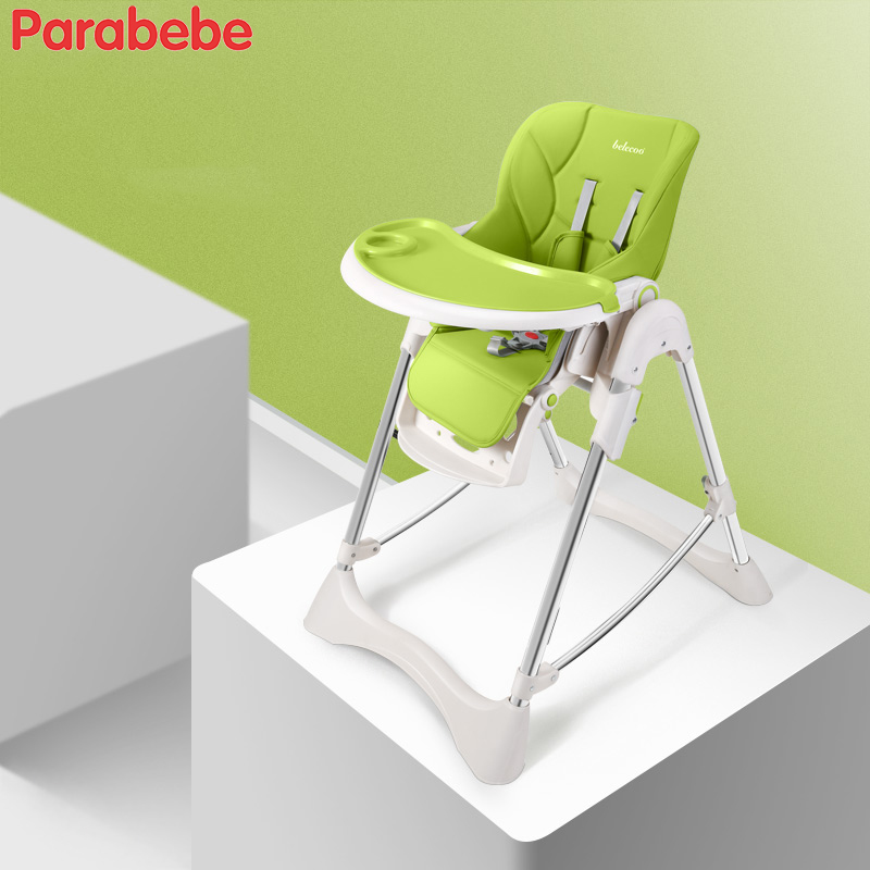 Portable Baby Chair Eating PP Material 30MM Tube Chair For Feeding Baby Highchair Dining Feeding Chair Baby High Chair For Kids baby highchair foldable high chair for kids adjustable feeding chair with pu leather cushion dining table with wheels