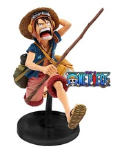 NEW hot 21cm One piece luffy running Action figure toys doll collection Christmas gift