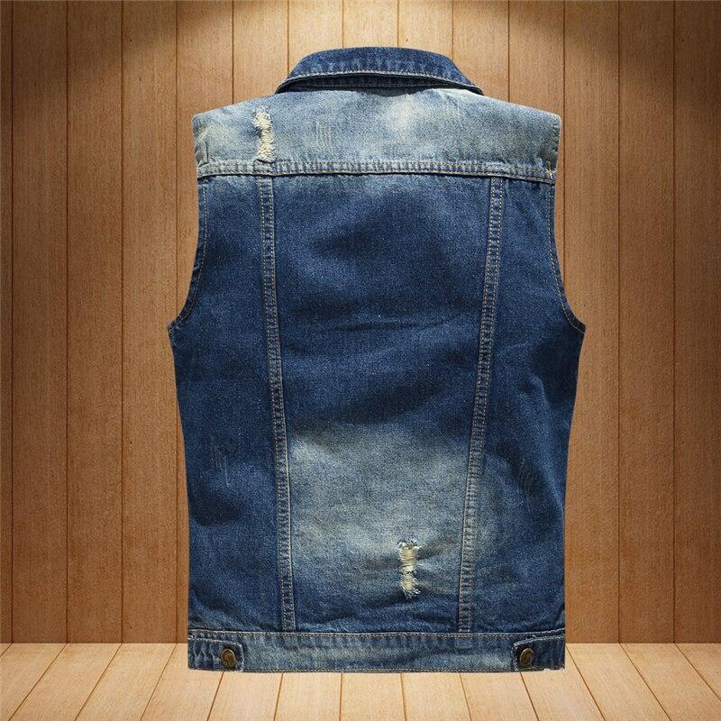 Plus Gilet La Hommes Veste Déchiré En Acheter Taille Jeans Jean qwz7Xxnv