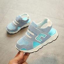 c2d6bae3b 2018 M playa verano fresco zapatos para niños niñas transpirable running  zapatillas bebé elegante tacones calados
