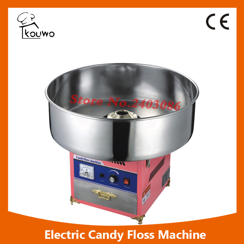 KW-MJ600 high quality  electric pink cotton candy floss maker machine  candy floss sugar mix machine for commercial use edtid new high quality small commercial ice machine household ice machine tea milk shop