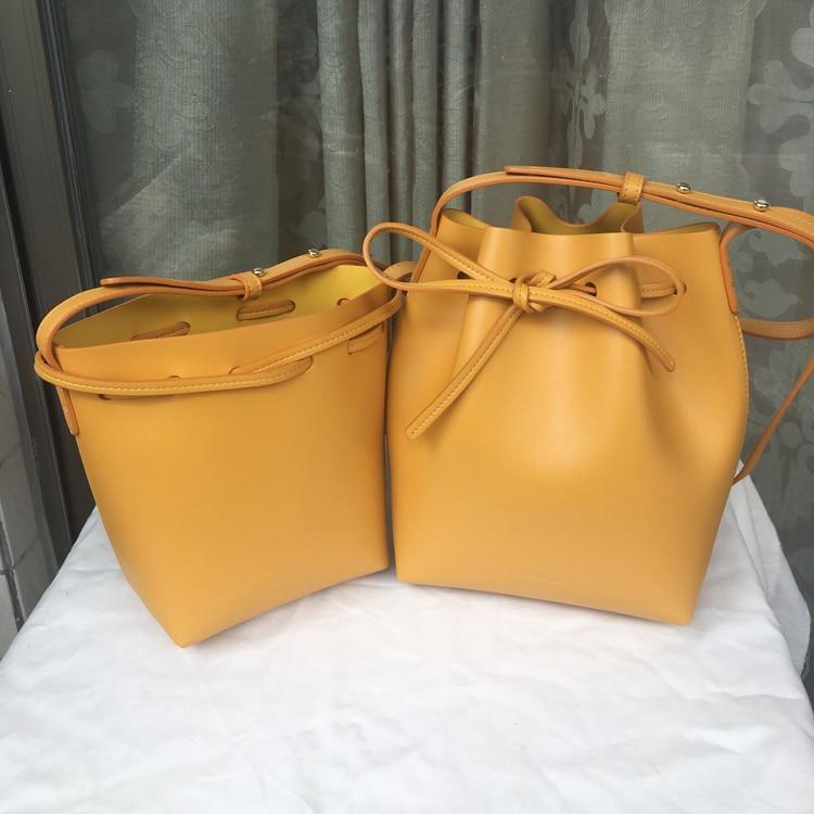 MINI bucket Split Leather MINI Cross Shoulder Bag for Women