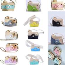 Nordic European Style Camera Toys Baby Kids Room Decor Furnishing Articles Child Christmas Birthday Wood Gifts(China)