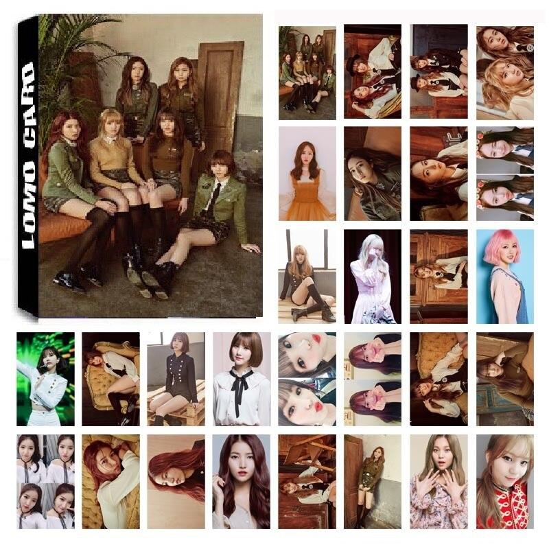 1 Box 30 Teile/satz Kpop Gfriend Team 4 Album Die Awakening Hd Foto Karte Pvc Selbst Made Lomo Photocard Angenehm Zu Schmecken