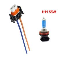 H11 with 55W Bulb