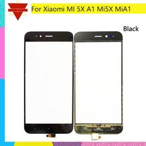 Image 2 - 10 шт./партия оригинальный Mi 5X Для Xiaomi Mi A1 5X Mi5X сенсорный экран Датчик ЖК дисплей дигитайзер Переднее внешнее стекло