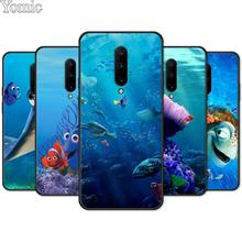 Finding Nemo Marlin Dory Nem film Black Soft Case for Oneplus 7 7 Pro 6 6T 5T Silicone Phone Case for Oneplus 7 7Pro Cover Shell