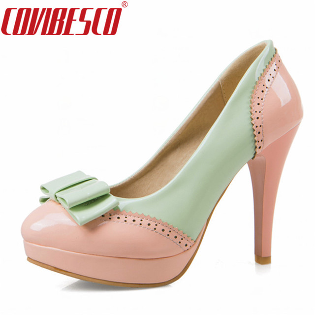 df363786a1678 US $42.7 |COVIBESCO Sexy Shoes Woman High Heels Stiletto Heels Women Pumps  Party Wedding Shoes Platforms Cute Colors Womens Shoes Pumps-in Women's ...