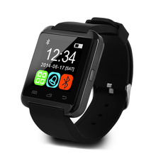 2015 Fashion Luxury Wholesale Bluetooth Smart Watch U8 Smart Wrist Watch Support Speaker Calendar And Pedometer Android U8