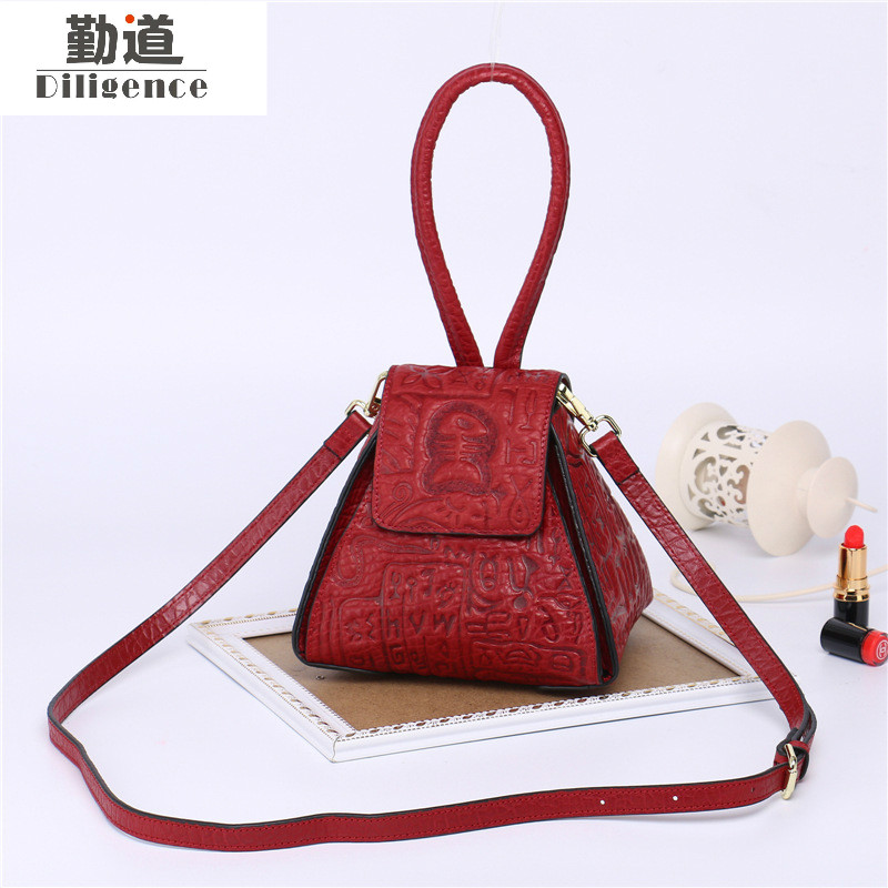 Genuine Cowhide Leather Handbags for Women 2017 Fashion Shoulder Bags Vintage Chinese Style Small Summer Beach Messenger Bags футболка поло modniy juk
