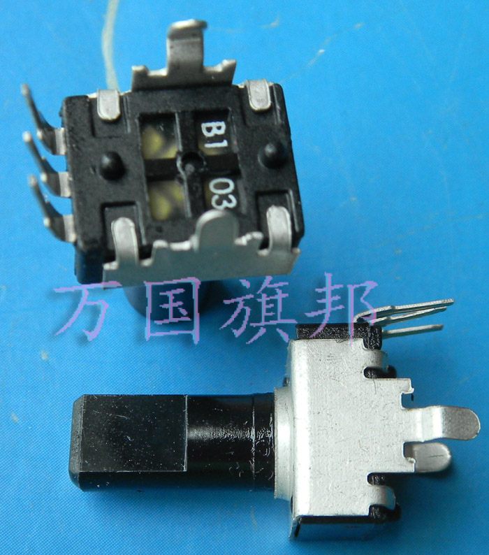 Free Delivery.09 Year 09320932 Potentiometer B103 10 B10K K Long Shank Vertical Half Shaft