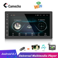 Camecho 2Din Android Universal Car Radio GPS Navigation Bluetooth Auto Audio Wifi Autoradio Touch screen Car Audio Stereo Player