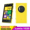 Original nokia lumia 1020 nokia cámara 41mp teléfono dual core 1.5 ghz 32 GB ROM 2 GB RAM Window 8 OS 3G & 4G Un Año garantía