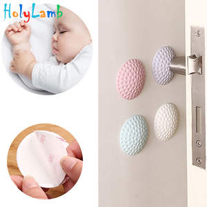 Security-Card Absorbers Lock-Protection Door-Stopper Baby-Safety Child Shock 4 4pcs/Lot